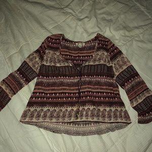 Billabong Boho blouse